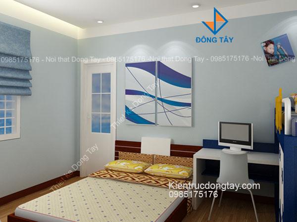 Mẫu phòng ngủ trẻ em nhà chung cư
