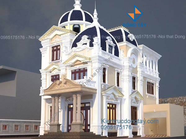 Thiết kế lâu đài đẹp