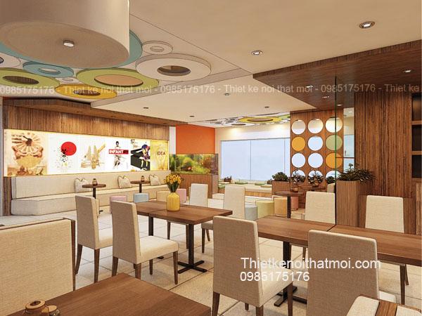 Mẫu thiết kế nhà hàng đẹp
