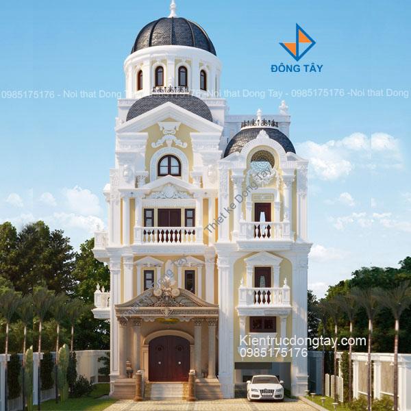 Thiết kế kiến trúc biệt thự lâu đài