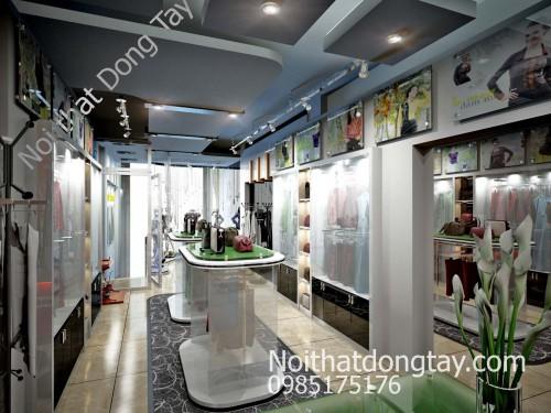 Mẫu nội thất showroom thời trang đẹp