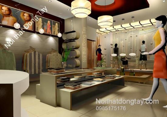Mẫu thiết kế cửa hàng thời trang