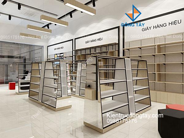 Mẫu thiết kế shop giầy thời trang