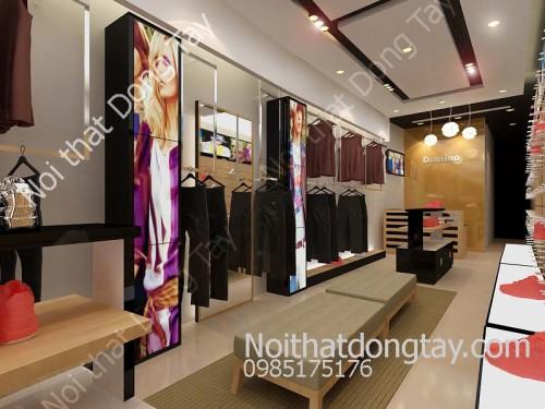 Mẫu thiết kế showroom thời trang đẹp - thời trang nam