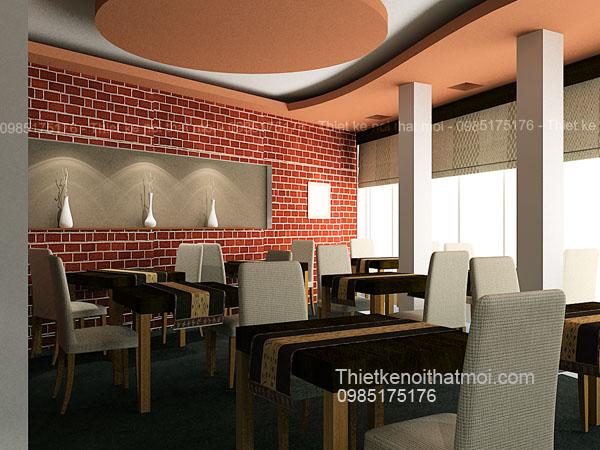 thiết kế phòng ăn nhà hàng