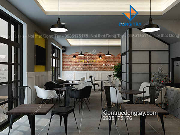 Mẫu quán cafe ưa chuộng ở hà nội