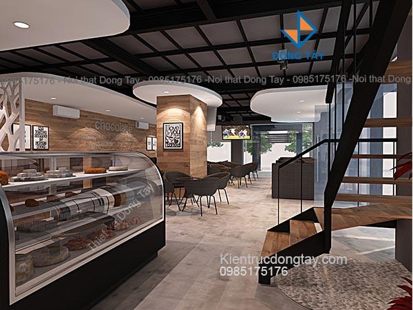 Mẫu thiết kế quán cafe nhà thép tiền chế