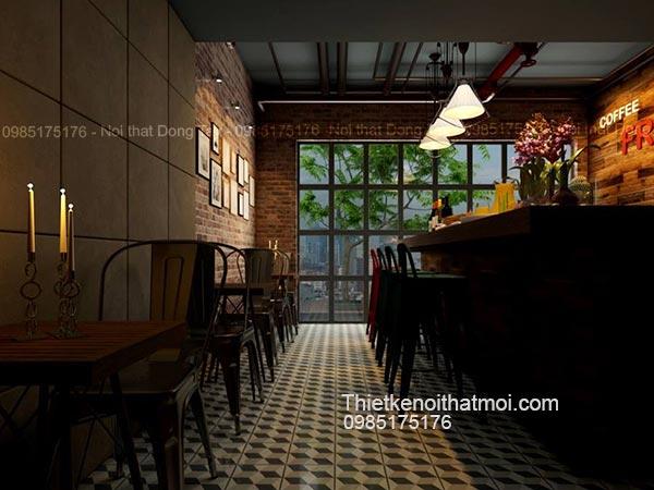 Thiết kế bar cafe