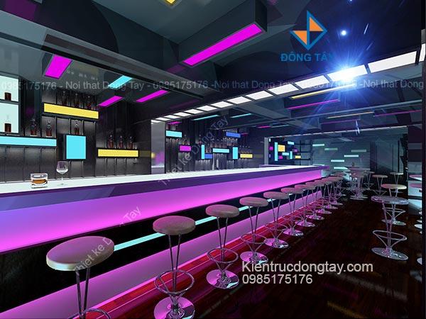 Mẫu thiết kế quán bar đẹp