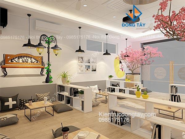 Mẫu thiết kế quán cà phê ngồi bệt đẹp
