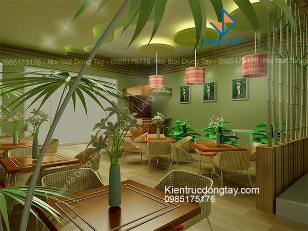 Thiết kế quán cafe giải khát