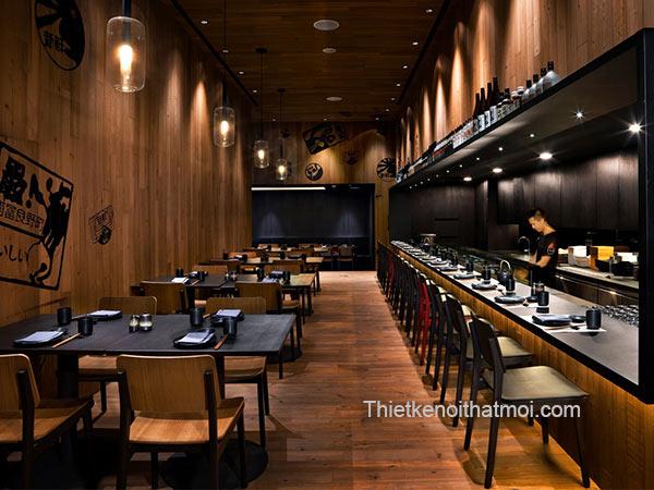 Phong cách nhà hàng hàn quốc
