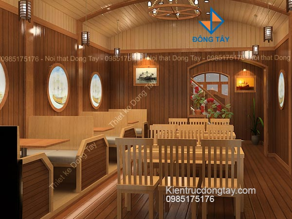 Thiết kế nội thất trên tàu du lịch