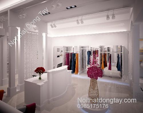 Hình ảnh thiết kế shop thời trang quần áo nữ