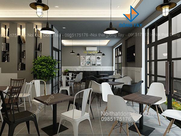 Mẫu quán coffe đẹp ở Hà Nội