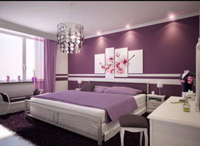 Màu sắc nội thất theo phong thủy phòng ngủ hành thổ