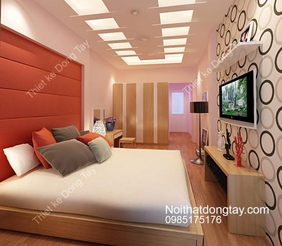 Mẫu thiết kế nội thất phòng ngủ nhỏ hẹp