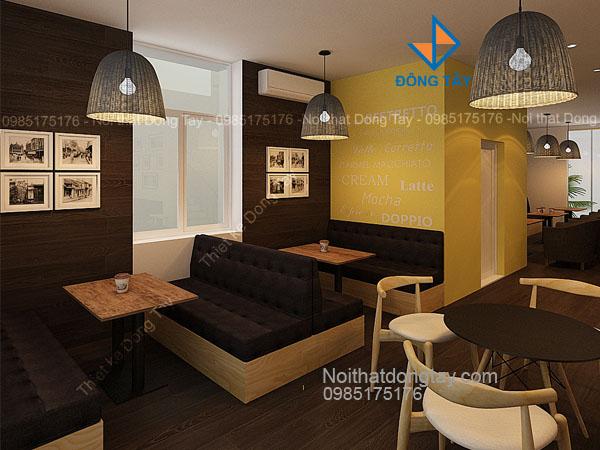 Mẫu thiết kế quán cafe biệt thự