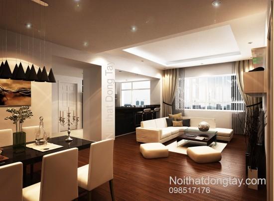 Mẫu nội thất căn hộ chung cư