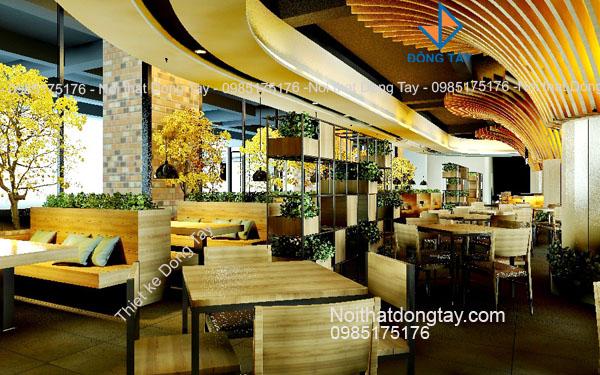 Thiết kế khu coffee golden palace