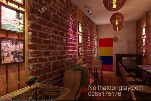 Thiết kế nội thất cafe cổ điển