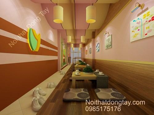 Thiết kế nội thất cafe kiểu nhật bản