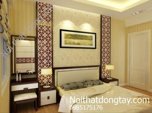 Thiết kế nội thất phòng ngủ chung cư cao cấp
