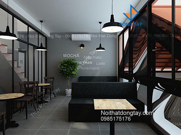 Thiết kế phòng vip quán cà phê