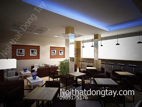 Thiết kế quán cà phê Quảng Ninh đẹp