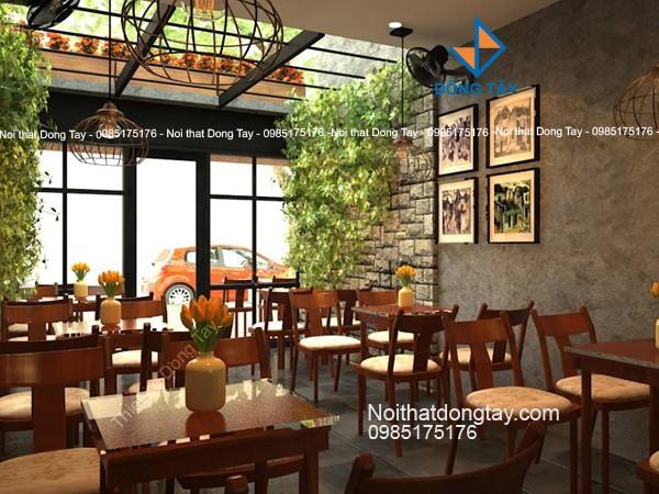 Thiết kế quán cafe Hà nội xưa