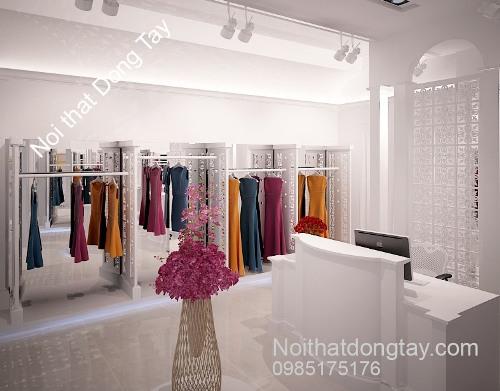 Thiết kế shop quần áo nữ