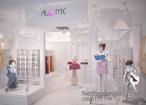 Thiết kế shop thời trang quần áo nữ